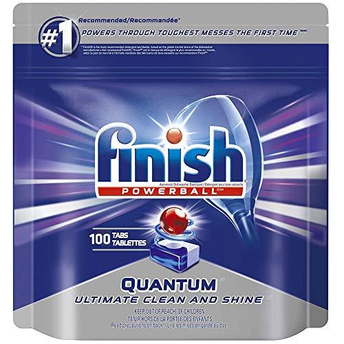 Price comparison product image Finish Quantum Max Fresh,  Automatic Dishwasher Detergent Tabs Mega Value Pack (100 Tablets)