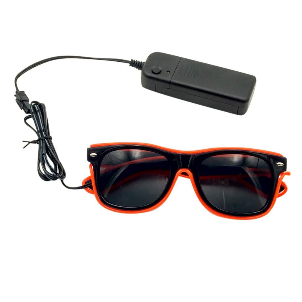 Gafas de Sol Luminosas LED,Gafas de Sol Brillantes,Gafas de Sol con luz LED para Halloween,Navidad,Fiesta de cumplea/ños,Regalo,para ni/ños y Adultos
