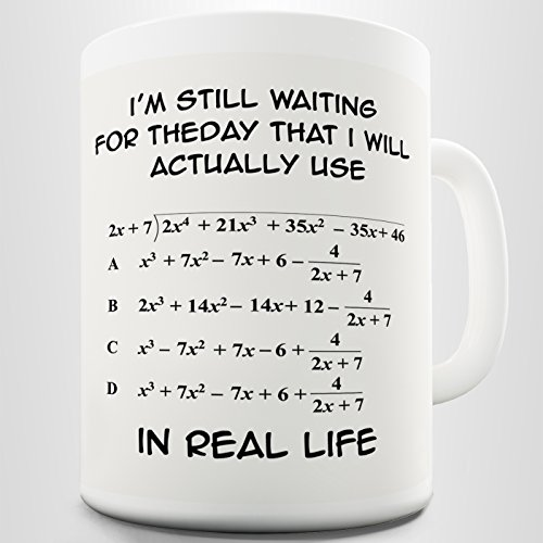 I'm Still Waiting Algebra Maths Teacher Office Home Funny Coffee Cup Mug