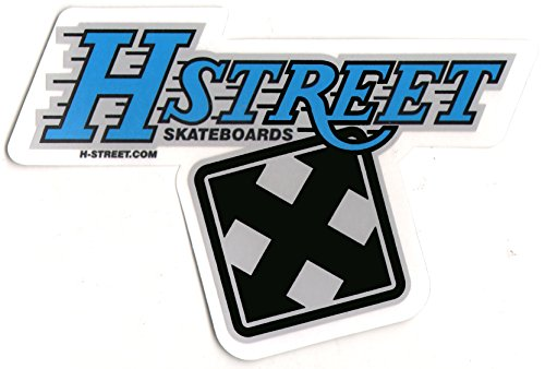 H-Street Skateboards Skateboard Sticker - 14cm wide for sale  Delivered anywhere in USA