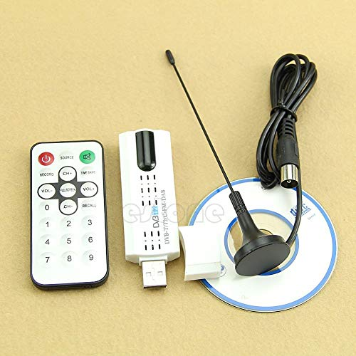 USB Dongle DVB-T2 / DVB-T/DVB-C + FM + DAB Digital HDTV Stick Tuner Receiver
