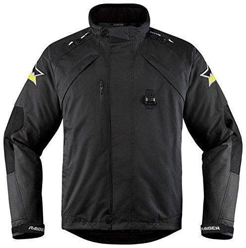 [해외] Icon 아이콘 Raiden DKR Monochromatic Jacket 2017모델 재킷 블랙 3XL