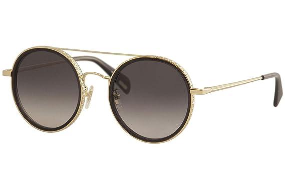 Amazon.com: Gafas de sol Policía SPL 830 oro negro 0300 ...