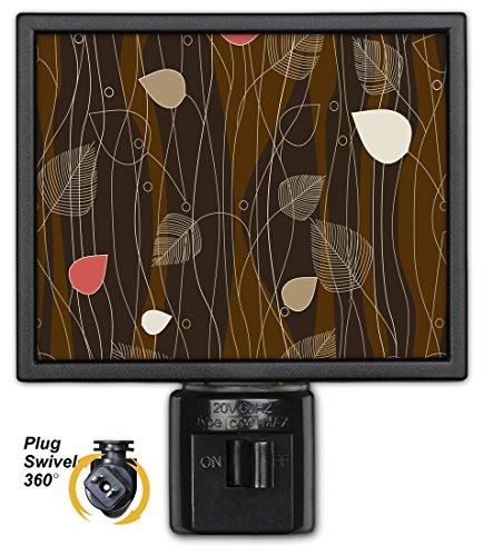 Art Plates NL-833 Abstract Mocha Night Light