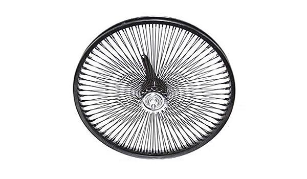 "Beach Cruiser Bike 26/"" Rear /& Front  Rims 144 spokes wheels Coaster Brake Black"
