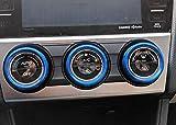 iJDMTOY 3pcs Blue Anodized Aluminum AC Climate