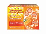 Cheap Emergen-C Super Orange, 1000 mg of Vitamin C, 0.32 Ounce, 120-Count Pack (3ngpiz)