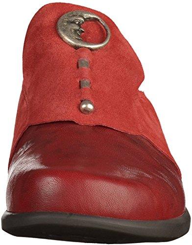 Pense Pensa Mocassins Women's Loafers Red Rouges Femmes Think Pensa qR4wqd