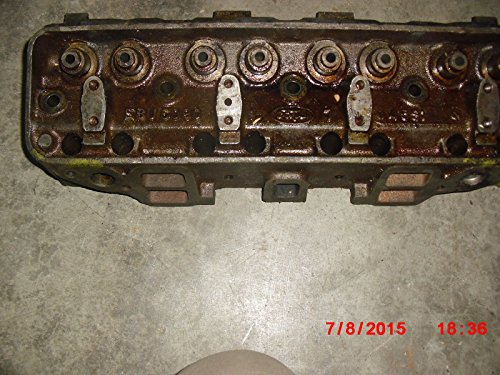 1954-55 FACTORY FORD NOS 239 V8 BARE CYLINDER Head-B4A-6049-G FITS EITHER - Paypal Call Free