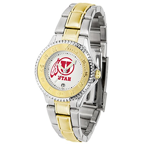 Utah Utes Competitor Two-Tone Women's Watch