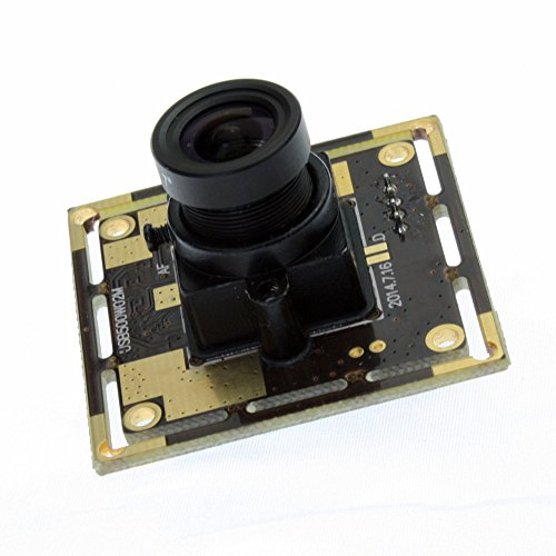 ELP 170 Degree Wide Angle USB 5 Megapixel Webcam for Portable Video System