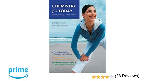 Chemistry for today general organic and biochemistry spencer l chemistry for today general organic and biochemistry spencer l seager michael r slabaugh 9780495118404 amazon books fandeluxe Image collections