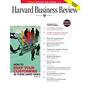 Harvard Business Review, April 2009 Periodical