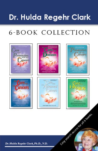 Dr. Hulda Regehr Clark 6-Book Collection by [Clark, Dr. Hulda
