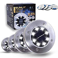 Image of the product Sunlit Disk Solar Lights that is listed on the catalogue brand of Sunlit.