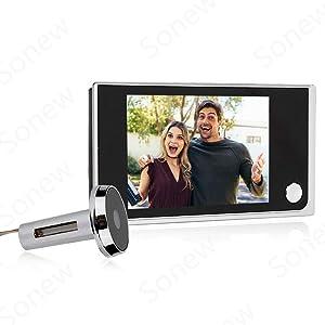 Sonew Home Video Door Eye Viewer