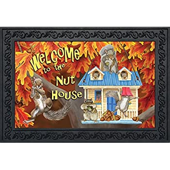 Amazon Com Rivers Edge Products Nut House Door Mat