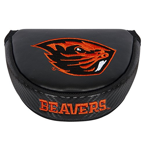 Oregon State Beavers Store - Team Effort NCAA Oregon State Beavers Mallet Putter Coverblack Mallet Putter Cover, Black, NA