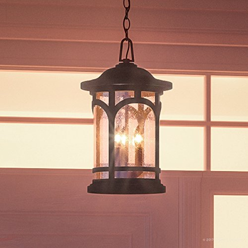 Outdoor Lighting Colonial Style Home in US - 3