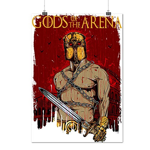 Gods Of The Arena Sparta Hero Matte/Glossy Poster A2 (17x24 inches) | Wellcoda