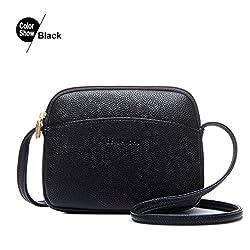 Ananxila New Hot Crossbody Bags For Women Casual Mini Candy Color Messenger Bag Shoulder Bags Black Mini Max Length 20cm