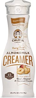 product image for Califia Farms Hazelnut Almondmilk Coffee Creamer with Coconut Cream, 25.4 Oz (Pack of 3) | Dairy Free | Plant Based | Nut Milk | Vegan | Non-GMO
