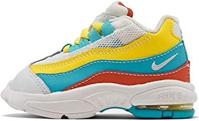 Inscribirse túnel Prevalecer  Amazon.com | Nike Air Max 95 (td) Toddler Ck0058-400 Size 10 | Sneakers
