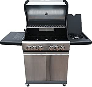 Gas BBQ with 4 Burners Side Burner And Rotisserie 10 DAY EASTER SALE