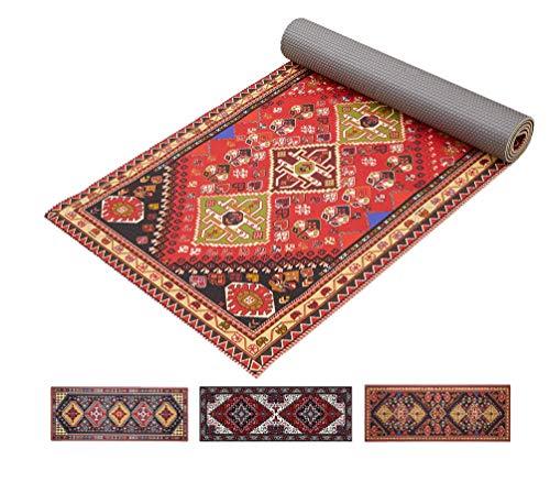 "Ananda Yoga Mat Non Slip 1/4"" Thick Fitness Exercise Mat Premium Rug Pattern Men & Women Workout Mats for Home, Pilates…"