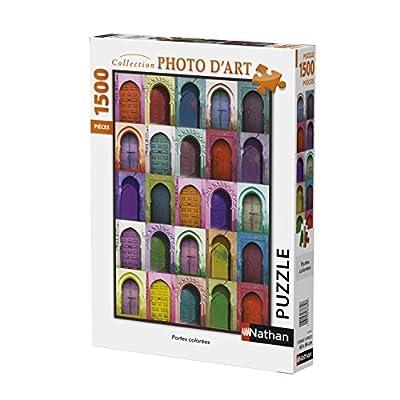 Nathan Puzzle Portes Colores 1500 Pezzi 87783