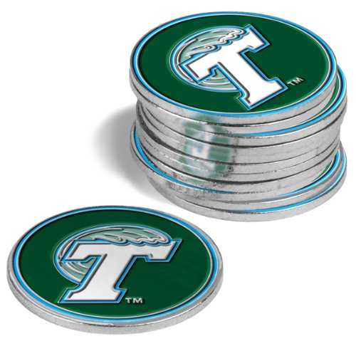 Tulane Green Wave Golf Ball Markers (4 Pack)