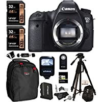 Canon EOS 6D 20.2 MP CMOS Digital SLR Camera, Polaroid 72