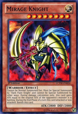 Yu-Gi-Oh! - Mirage Knight (LCYW-EN024) - Legendary Collection 3: Yugi's World - Unlimited Edition - Common