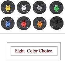 GSF1200 01-04 GSXR600 97-03 CNC Aluminum Billet Keyless Twist off Gas Fuel Tank Cap Cover For Suzuki SV650 99-02 TL1000 R S 97-03 HAYABUSA 99-07 GSXR1000 01-02