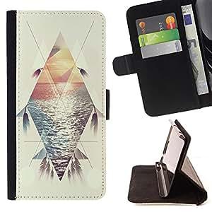 Dragon Case- Caja de la carpeta del caso en folio de cuero del tirš®n de la cubierta protectora Shell FOR HTC One M7- Peacock Feather