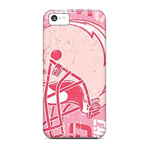 MansourMurray Iphone 5c Protective Hard Phone Cover Provide Private Custom Fashion San Diego Chargers Series [Qxc7295JKxG]