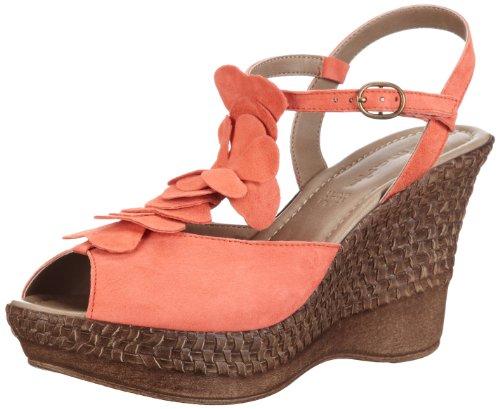 Tamaris Tamaris 1-1-28022-30 - Sandalias de cuero para mujer Rojo (Rot (CORAL 563))