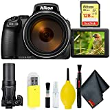 Nikon COOLPIX P1000 Digital Camera + 128GB Sandisk Extreme Memory Card Base Kit International Model