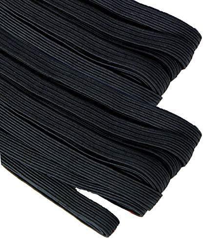 Goma elástica para costura de 5 mm. negra, banda elástica 10 ...