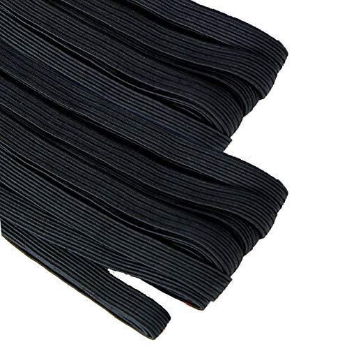🥇 Goma elástica para costura de 4 mm. negra