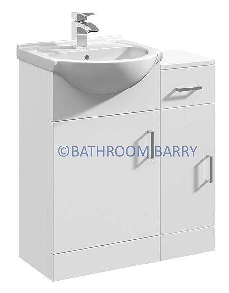 gloss gloss modular bathroom furniture collection. 700mm Modular High Gloss White Bathroom Combination Vanity Basin Sink Cabinet \u0026 Cupboard Unit, Furniture Collection