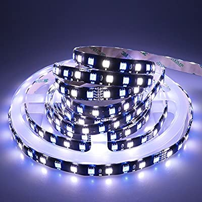 LEDENET Waterproof IP65 Flexible RGBW LED Strip Lights DC 24V 360LEDs 5M Black PCB Indoor Decoration Lighting