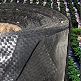 Woven Ground Cover, Weed Control Barrier, Silt Fence 3oz 3' X 300'