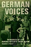 German Voices, Frederic C. Tubach and Sally Patterson Tubach, 0520269640
