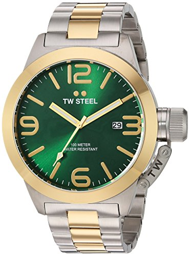 TW Steel Men's CB62 Analog Display Quartz Two Tone Watch
