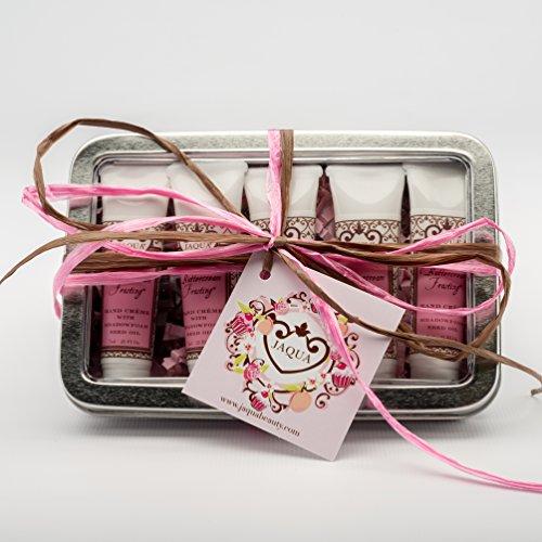 JAQUA Beauty Hand Cream Set | Buttercream Frosting Sweet Mini Hand Cream Gift Set