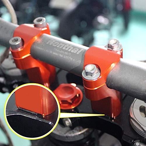 - TARAZON CNC Billet 32mm 42mm 52mm Clamp Risers 1 1/8