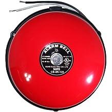 SUNS International CB-4R-120 Red Alarm Bell 4in 120VAC
