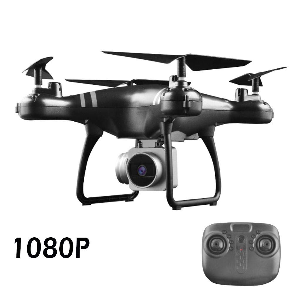 Hiplle FPV RC Drone with HD Camera Live Video WiFi Quadcopter - Altitude Hold Mobile Phone WiFi HD 720P/1080P Aerial Photography UAV FPV Quadcopter - 24 Mins Long Battery Life- White/Black