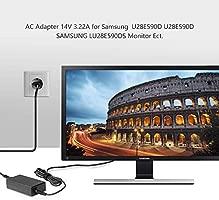 TAIFU 14V 3,3A Adaptador de Corriente Cargador para Samsung U28E590D Samsung Monitor LU28E5900S/EN- Monitor para PC Desktop de 28 Monitor Televisor TV ...